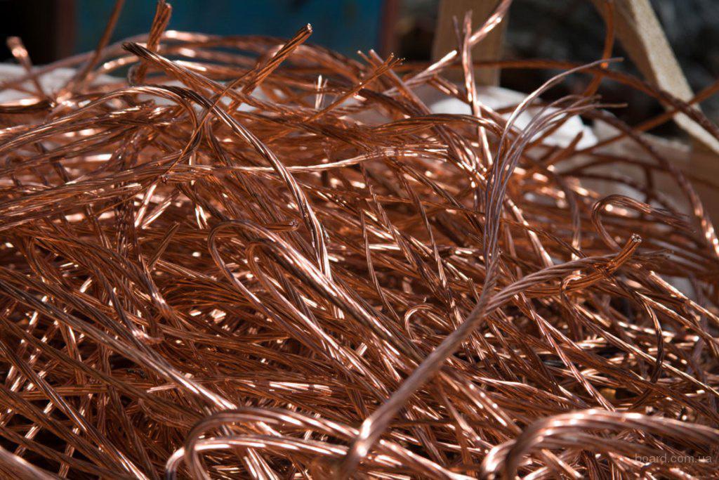 Цена на медь лом в Лоза цветных металлов в Одинцово
